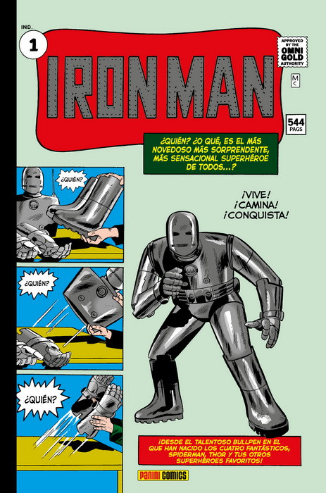 IRON MAN OMNIGOLD # 01 | 9788491678281 | STAN LEE - JACK KIRBY - STEVE DITKO - DON HECK - LARRY LIEBER | Universal Cómics