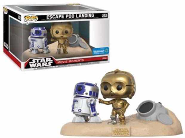 R2-D2 & C-3PO DESIERTO ESCAPE POD 2 PACK FIG 10 CM | 0889698232265 | Universal Cómics