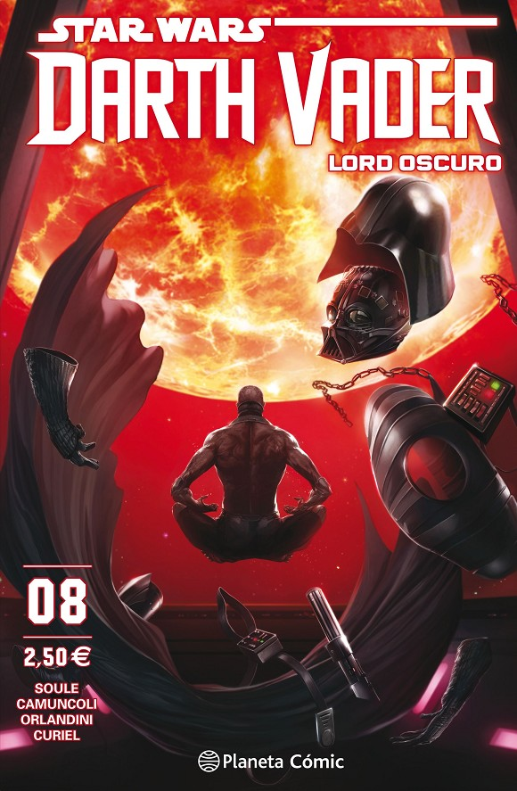 STAR WARS DARTH VADER LORD OSCURO # 08 | 9788491469087 | CHARLES SOULE - GIUSEPPE CAMUNCOLI | Universal Cómics