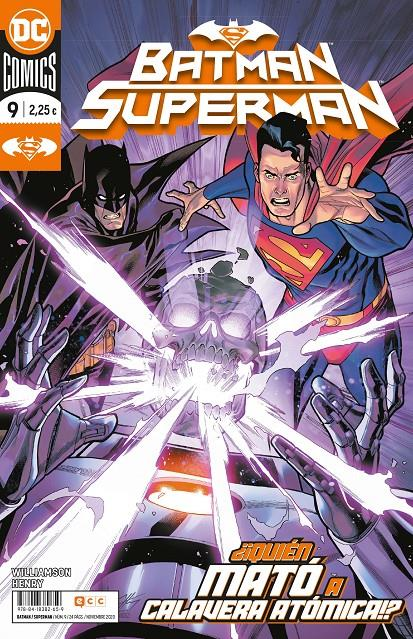 BATMAN SUPERMAN VOL 2 # 09 (PORTADA PROVISIONAL) | 9788418382659 | CLAYTON HENRY - JOSHUA WILLIAMSON | Universal Cómics