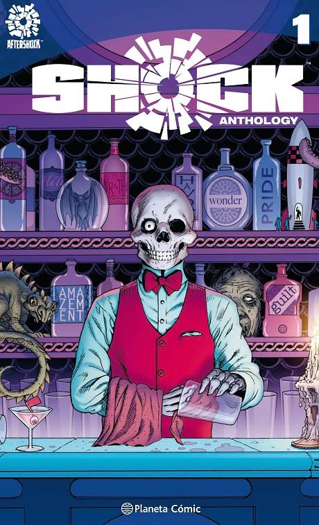 SHOCK ANTHOLOGY | 9788416816163 | MARGUERITE BENNET - BRIAN AZZARELLO - CULLEN BUNN - MIKE CAREY - VARIOS AUTORES | Universal Cómics