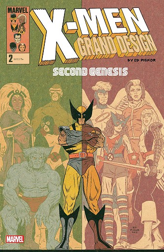 USA X-MEN: GRAND DESIGN # 02 SECOND GENESIS | 978130290490652999 | ED PISKOR | Universal Cómics