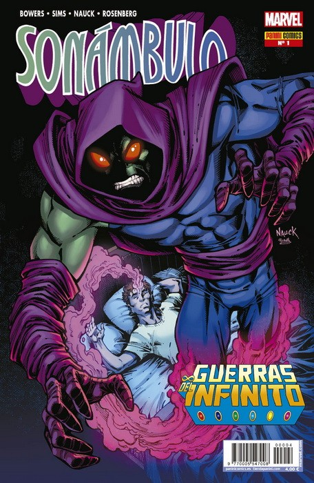 GUERRAS DEL INFINITO ESPECIAL # 04 SONÁMBULO | 977000554700800004 | CHAD BOWERS - TODD NAUCK - CHRIS SIMS | Universal Cómics