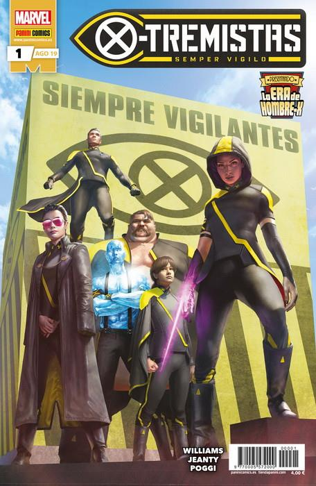 LA ERA DE HOMBRE-X, X-TREMISTAS # 01 | 977000557200000001 | LEAH WILLIAMS - GEORGES JEANTY | Universal Cómics