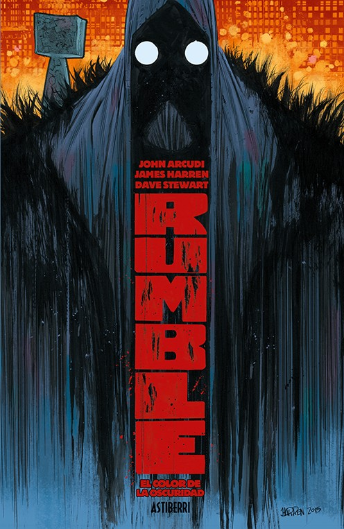 RUMBLE # 01 EL COLOR DE LA OSCURIDAD | 9788416880621 | JAMES HARREN - JOHN ARCUDI