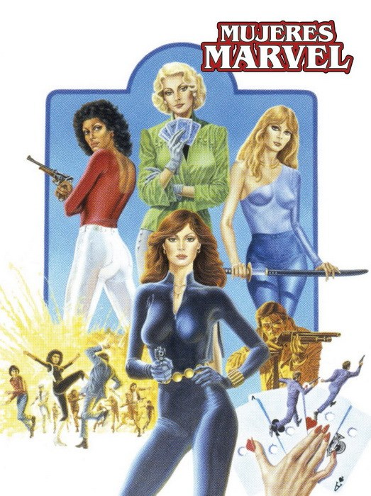 MUJERES MARVEL | 9788416986415 | CHRIS CLAREMONT - MARSHALL ROGERS - VICENTE ALCÁZAR - RALPH MACCHIO - PAUL GULACY - MICHAEL GOLDEN  | Universal Cómics
