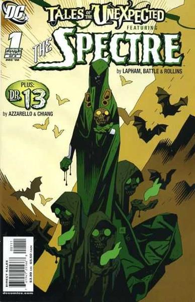 USA COMPLETE COLLECTION TALES OF THE UNEXPECTED THE SPECTRE | 107271 | DAVID LAPHAM - ERIC BATTLE - BRIAN AZZARELLO - CLIFF CHIANG | Universal Cómics