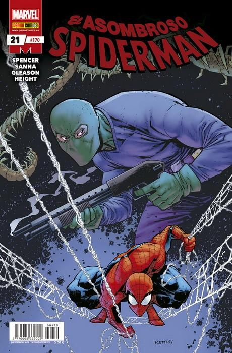 SPIDERMAN VOL 2 # 170 EL ASOMBROSO SPIDERMAN 21 (PORTADA PROVISIONAL) | 977000533900900170 | NICK SPENCER - KIM JACINTO - PATRICK GLEASON - RAY-?ANTHONY HEIGHT | Universal Cómics