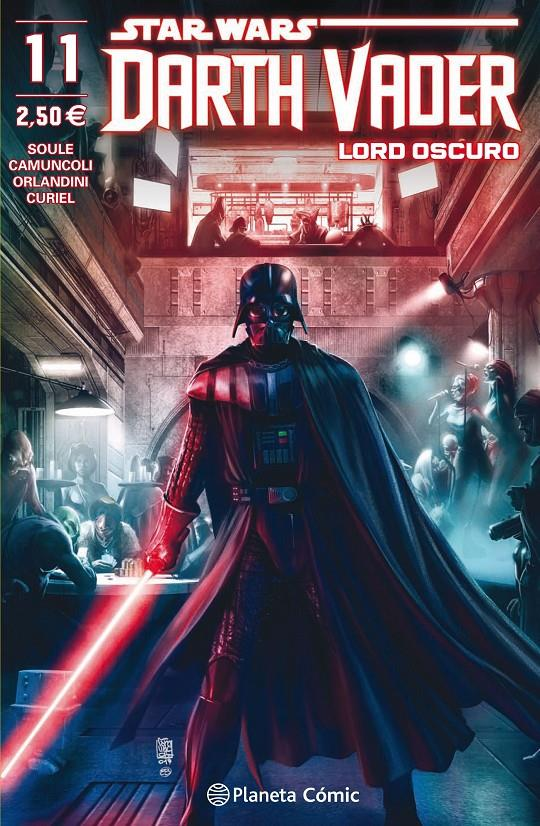 STAR WARS DARTH VADER LORD OSCURO # 11 | 9788491735519 | CHARLES SOULE - GIUSEPPE CAMUNCOLI | Universal Cómics