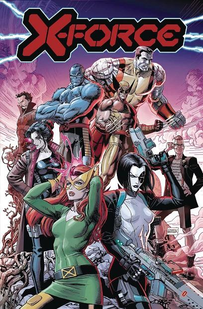 USA X-FORCE BY BENJAMIN PERCY VOL 1 | 978130291988751799 | PERCY - CASSARA - WHITE | Universal Cómics