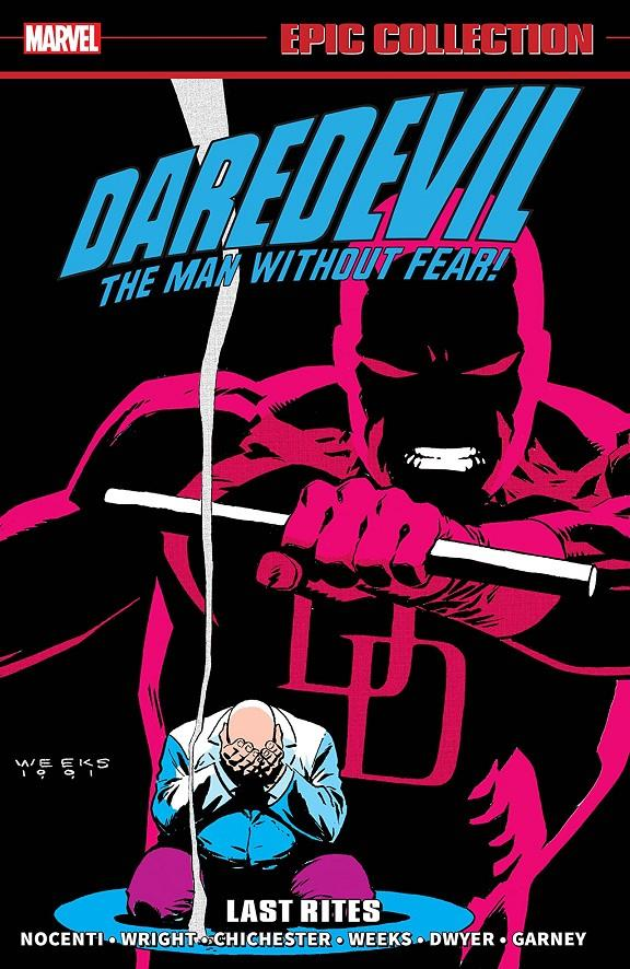 USA EPIC COLLECTION DAREDEVIL # 15 LAST RITES TP | 978130292563553999 | ANN NOCENTI - MARK BAGLEY - LEE WEEKS | Universal Cómics