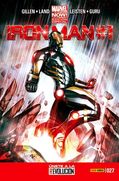 INVENCIBLE IRON MAN VOL 2 # 027 MARVEL NOW EDICIÓN ESPECIAL | 977123444300000027 | KIERON GILLEN - GREG LAND | Universal Cómics