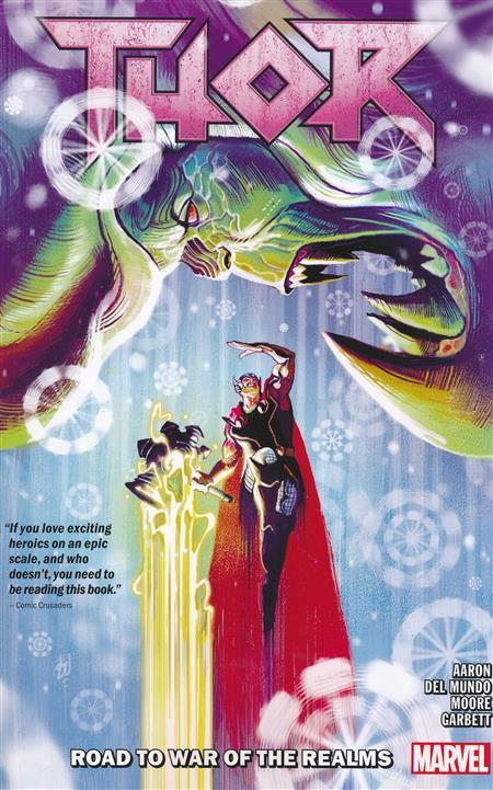USA THOR TP VOL 02 ROAD TO WAR OF REALMS | 978130291290151599 | JASON AARON - TONY MOORE - LEE GARBETT - MICHAEL DEL MUNDO | Universal Cómics