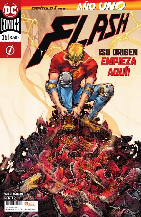 FLASH # 50 RENACIMIENTO 36 AÑO UNO PARTE 1 | 9788418026867 | JOSHUA WILLIAMSON - HOWARD PORTER | Universal Cómics