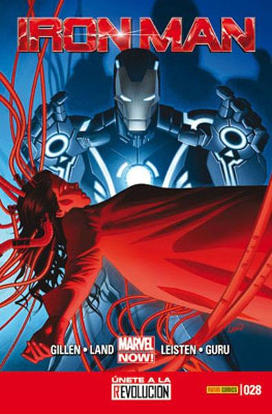 INVENCIBLE IRON MAN VOL 2 # 028 MARVEL NOW | 977000544300300028 | KIERON GILLEN - GREG LAND | Universal Cómics