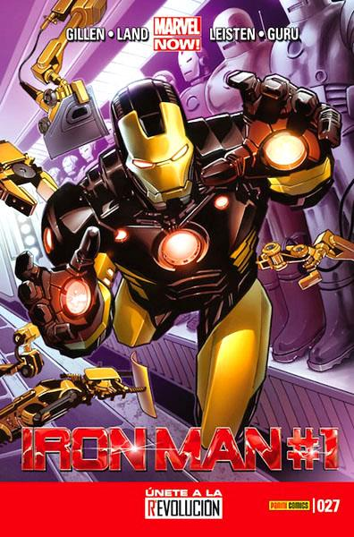 INVENCIBLE IRON MAN VOL 2 # 027 MARVEL NOW | 977000544300300027 | KIERON GILLEN - GREG LAND | Universal Cómics
