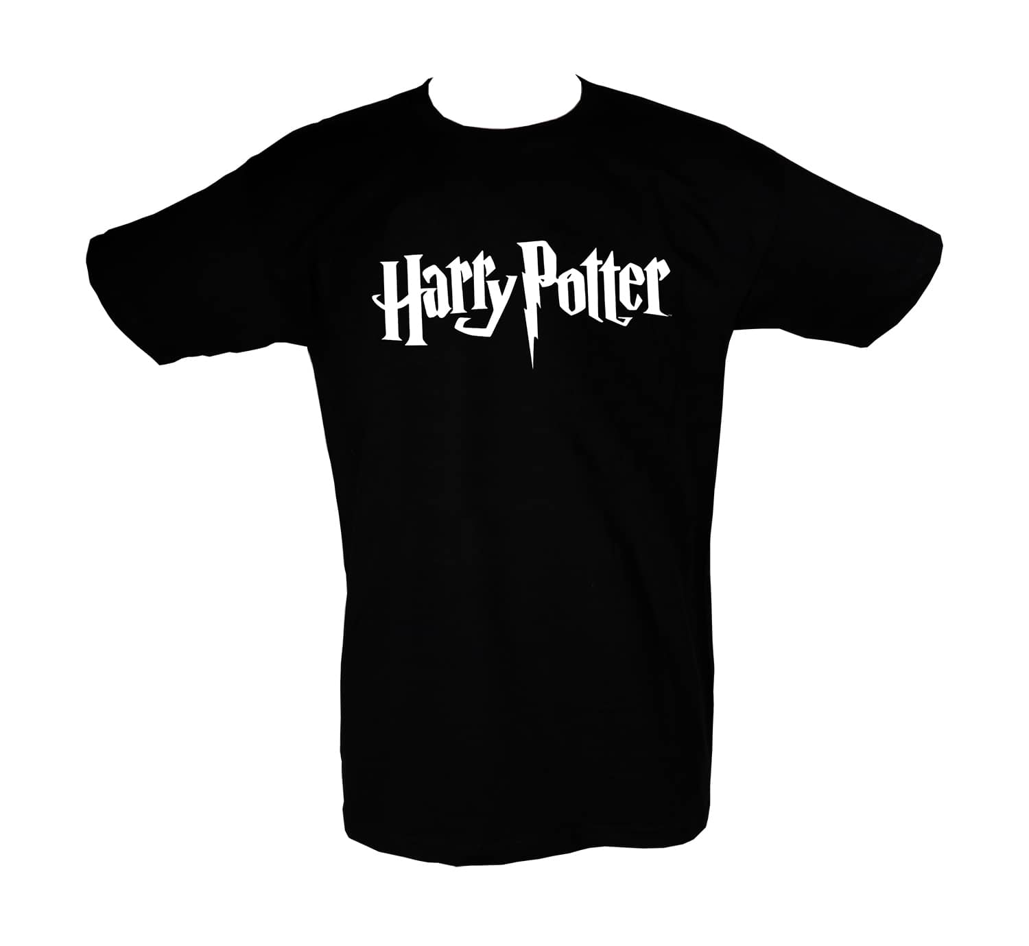 LOGO HARRY POTTER CAMISETA NEGRA CHICO T-L HARRY POTTER | 8435450206535 | Universal Cómics