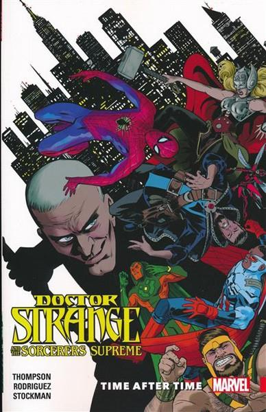 USA DOCTOR STRANGE AND SORCERERS SUPREME TP VOL 02 TIME AFTER TIME | 978130290591051799 | ROBBIE THOMPSON - JAVIER RODRIGUEZ - ALVARO LOPEZ - NATHAN STOCKMAN | Universal Cómics