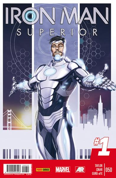 INVENCIBLE IRON MAN VOL 2 # 050 SUPERIOR | 977000544300300050 | TOM TAYLOR - YILDIRAY ÇINAR | Universal Cómics
