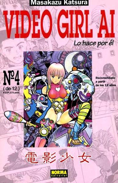 VIDEO GIRL AI VOL I # 04 | 978843303293500004 | MASAKAZU KATSURA | Universal Cómics