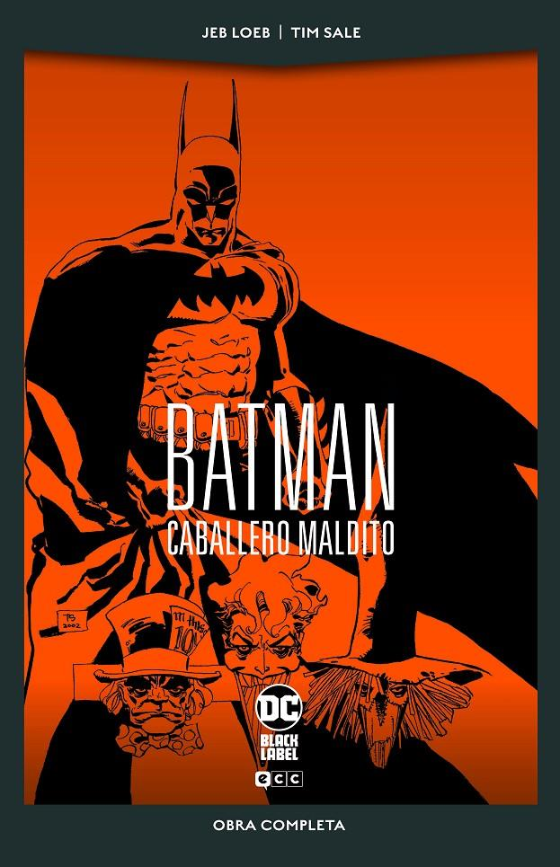 BATMAN CABALLERO MALDITO EDICIÓN DC BLACK LABEL POCKET | 9788418475412 | JEPH LOEB - TIM SALE | Universal Cómics