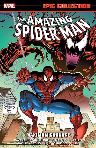 USA EPIC COLLECTION AMAZING SPIDER-MAN # 25 MAXIMUM CARNAGE TP | 978130292190353999 | DAVID MICHELINE - MARK  BAGLEY - RON LIM - TOM DEFALCO | Universal Cómics