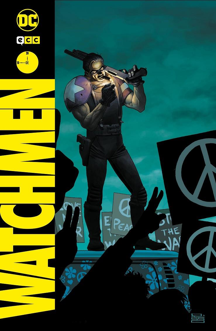 COLECCIONABLE WATCHMEN # 10 | 9788418120602 | ADAM HUGHES - ALAN MOORE - DAVE GIBBONS - J. MICHAEL STRACZYNSKI | Universal Cómics