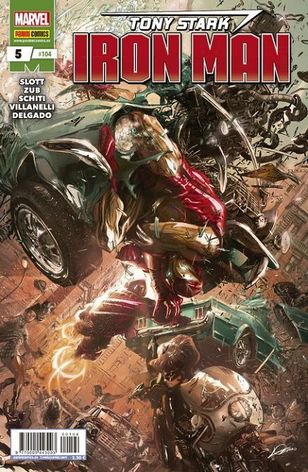 INVENCIBLE IRON MAN VOL 2 # 104 TONY STARK IRON MAN 05 | 977000544300300104 | DAN SLOTT - VALERIO SCHITI | Universal Cómics