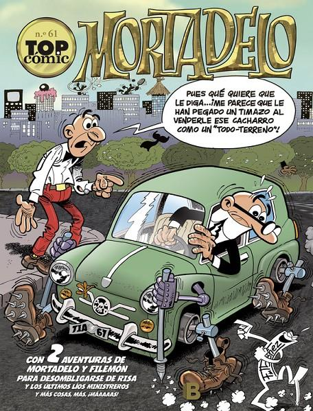 TOP COMIC MORTADELO # 61 EL BRUJO | 9788466659895 | FRANCISCO IBAÑEZ | Universal Cómics