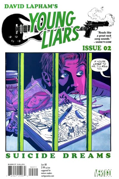 USA YOUNG LIARS # 02 | 137108 | DAVID LAPHAM | Universal Cómics