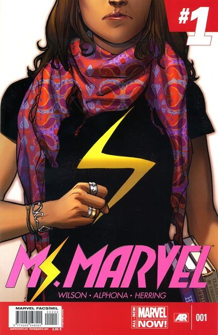MARVEL FACSIMIL # 03 MS. MARVEL 1 | 977000554600100003 | ADRIAN ALPHONA - G. WILLOW WILSON | Universal Cómics