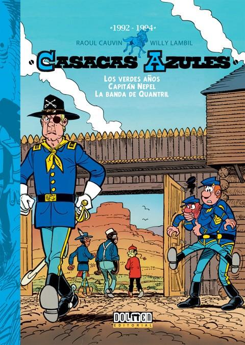 CASACAS AZULES INTEGRAL # 12 1992 - 1994 | 9788417389802 | RAOUL CAUVIN -  WILLY LAMBIL | Universal Cómics