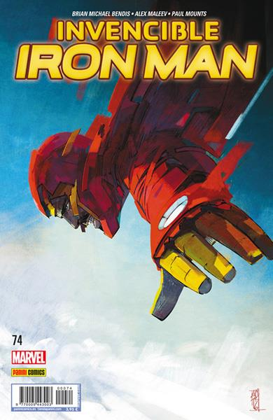 INVENCIBLE IRON MAN VOL 2 # 074 | 977000544300300074 | BRIAN MICHAEL BENDIS - ALEX MALEEV | Universal Cómics