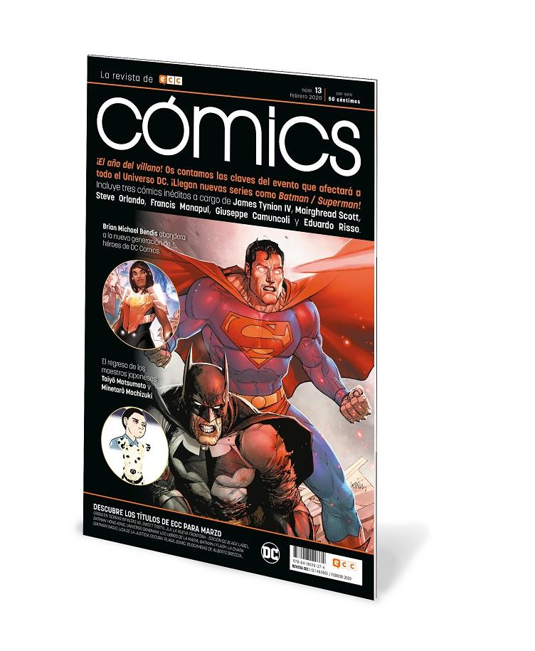 ECC CÓMICS # 13 | 9788418120374 | BRIAN MICHAEL BENDIS - JAMES TYNION IV - JIM LEE - JORGE JIMÉNEZ - JOSHUA WILLIAMSON - SCOTT SNYDER | Universal Cómics