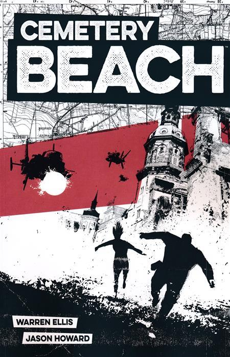 USA CEMETERY BEACH TP | 978153431223451799 | WARREN ELLIS - JASON HOWARD | Universal Cómics