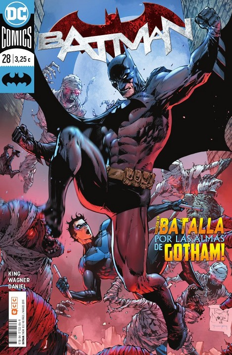 BATMAN # 83 RENACIMIENTO 28 | 9788417722869 | TOM KING - MATT WAGNER - TONY S. DANIEL | Universal Cómics
