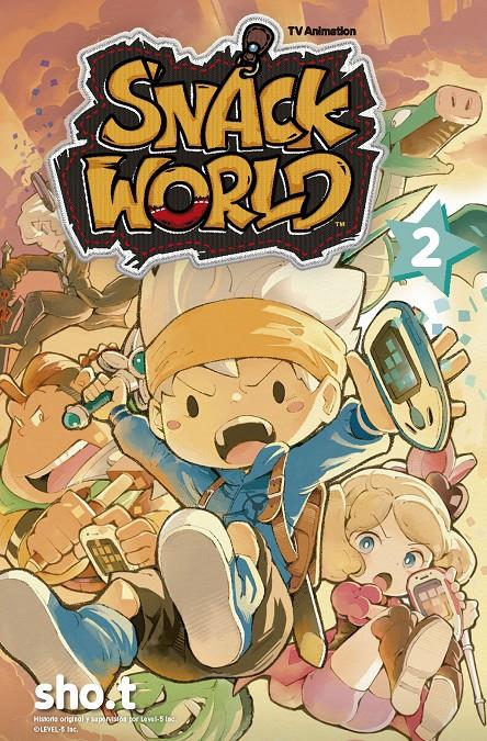 THE SNACK WORLD TV ANIMATION # 02 | 9788467938432 | SHO.T | Universal Cómics