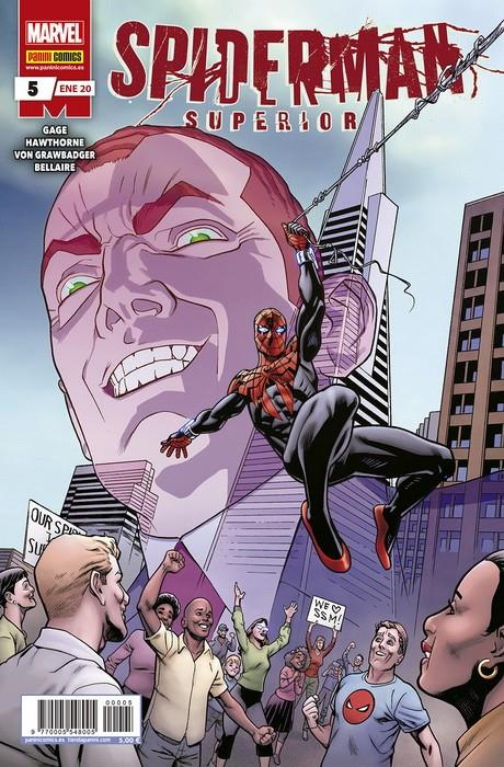 SUPERIOR SPIDER-MAN # 05  | 977000554800500005 | CHRISTOS GAGE - MIKE HAWTHORNE | Universal Cómics