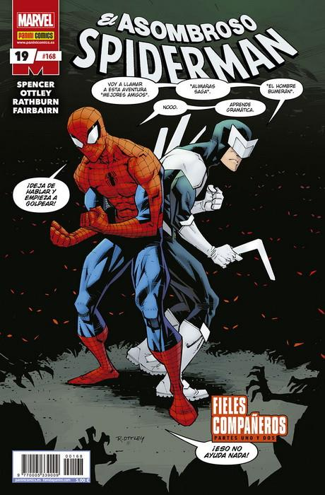SPIDERMAN VOL 2 # 168 EL ASOMBROSO SPIDERMAN 19 | 977000533900900168 | NICK SPENCER - RYAN OTTLEY | Universal Cómics
