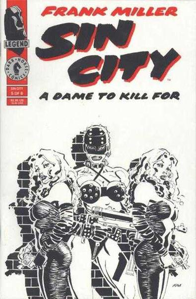 USA SIN CITY A DAME TO KILL FOR # 05 | 133003 | FRANK MILLER | Universal Cómics