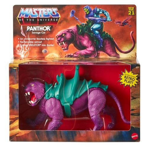 PANTHOR FIGURA MASTERS OF THE UNIVERSE ORIGINS | 0887961930849 | Universal Cómics