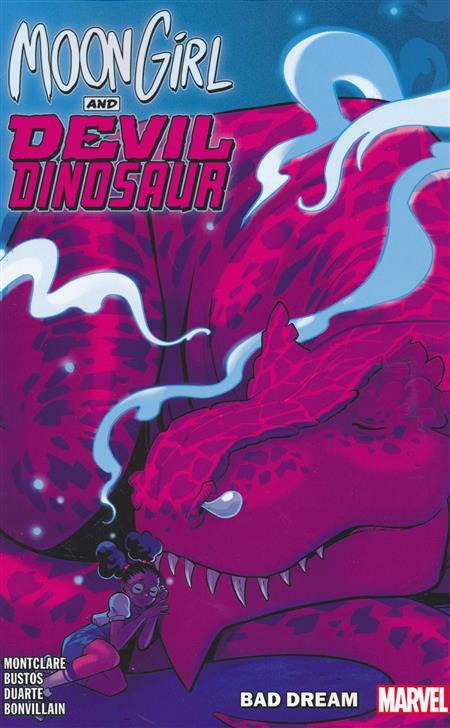 USA MOON GIRL AND DEVIL DINOSAUR TP VOL 07 BAD DREAM | 978130291436351599 | BRANDON MONTCLARE - NATACHA BUSTOS - GUSTAVO DUARTE | Universal Cómics