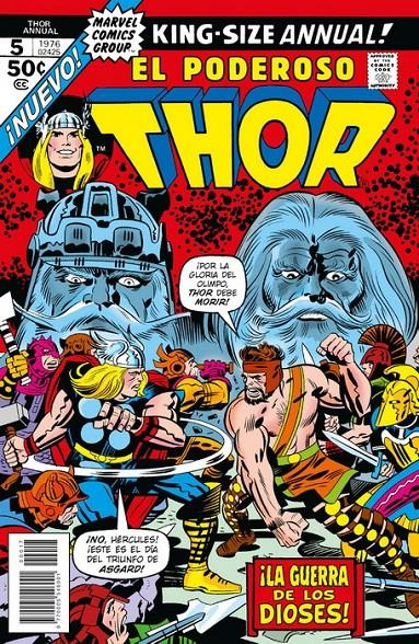 MARVEL FACSIMIL # 17 THE MIGHTY THOR ANNUAL 5 | 977000554600100017 | JOHN BUSCEMA - STEVE ENGLEHART | Universal Cómics