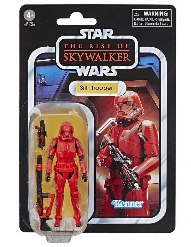SITH TROOPER RED E9 FIGURA 10 CM STAR WARS VINTAGE | 5010993627868 | Universal Cómics