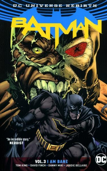 USA BATMAN DC UNIVERSE REBIRTH VOL 03 I AM BANE TP | 978140127131251699 | TOM KING - DAVID FINCH | Universal Cómics