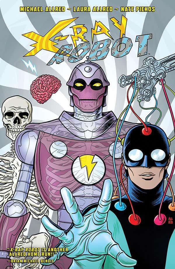 USA X-RAY ROBOT TP  | 978150671078551999 | MIKE ALLRED - LAURA ALLRED | Universal Cómics