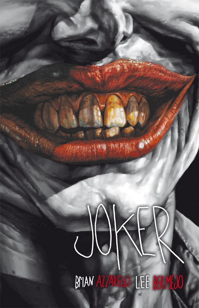 Resultado de imagen de joker brian azzarello portada