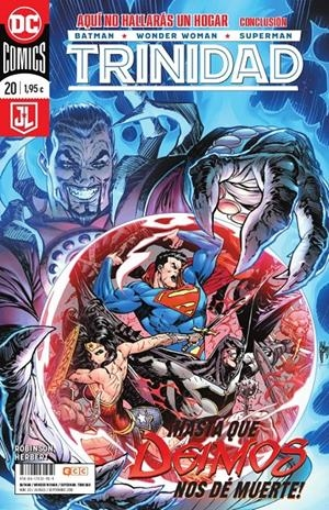 BATMAN / SUPERMAN / WONDER WOMAN TRINIDAD # 20 RENACIMIENTO | 9788417531959 | JAMES ROBINSON - PATRICK ZIRCHER