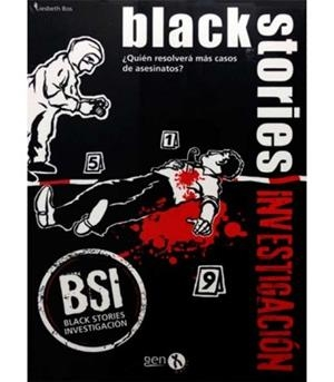 BLACK STORIES INVESTIGACION | 8436564810434 | HOLGER BOSCH - NICOLA BERGER
