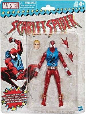 MARVEL LEGENDS VINTAGE SERIES 2 SCARLET SPIDER 15 CM ACTION FIGURE | 5010993577026